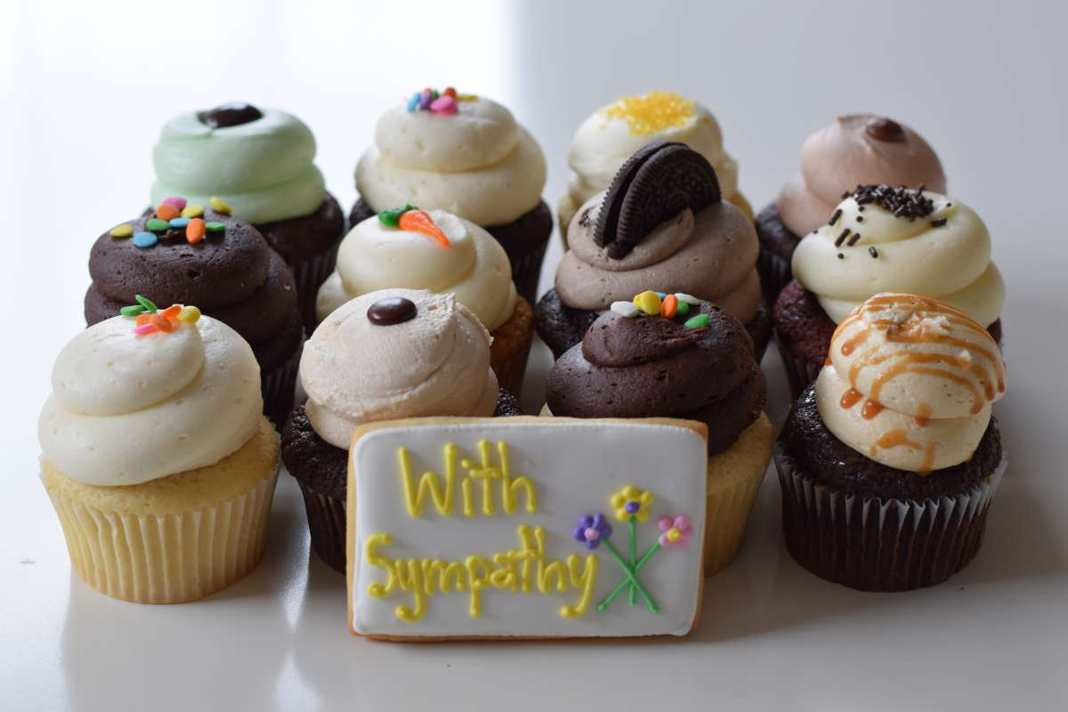 Bereavement Cupcake Gifts