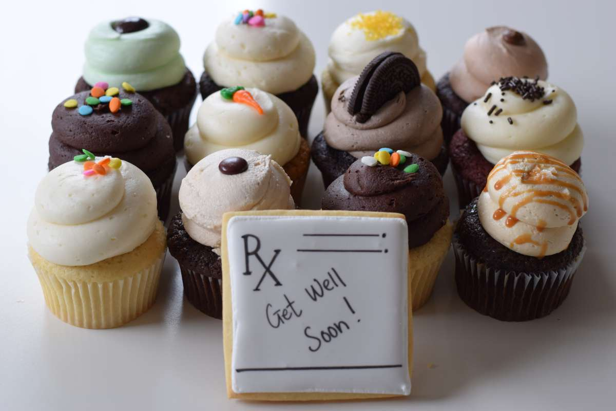 Get Well Cupcake Gifts
