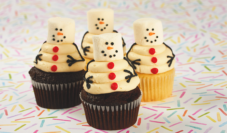 Holiday and Christmas Cupcakes