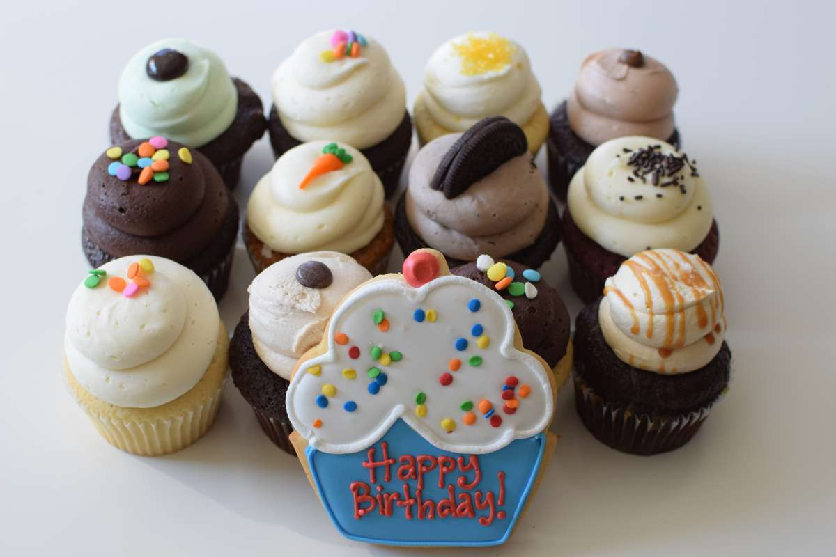 Birthday Cupcake Gifts