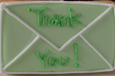 Select Thank You Sugar Cookie